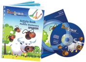 PetraLingua Spanish for Kids-Course Activity Book with Audio CD