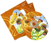 PetraLingua® French DVD Course for Kids 2 Video DVDs, 21 Lessons