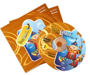 PetraLingua® German DVD Course for Kids 2 Video DVDs, 21 Lessons