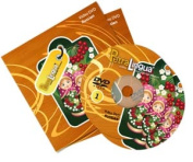 PetraLingua® Russian DVD Course for Kids 2 Video DVDs, 21 Lessons