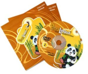 PetraLingua® Chinese DVD Course for Kids 2 Video DVDs, 20 Lessons