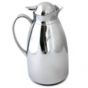 Stainless Steel Thermos Jug/Flask 1 L Chromed