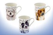 New Dog Fine Bone China Mug