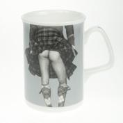 Bone china mug highland swing