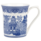 Queens Blue Story Willow Mug, Blue