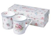 Churchill China Cath Kidston Mug Set, Floral Tea Design, Giftboxed