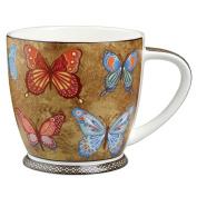 Hidden World Fine Bone China Goldern Monarch Mug