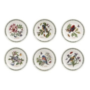 Portmeirion Botanic Garden Birds - 20cm Salad Plates - Set of 6 assorted motifs
