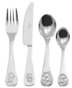 Viners Childrens Fairy 4-Piece Cutlery Set, Gift Box