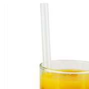 Super Jumbo Straws 23cm Clear - Box of 200 | Drinking Straws, Ideal for Milkshakes, Smoothies and Slushies