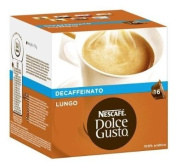 Nescafe Dolce Gusto Lungo Decaffeinated 16 Capsules