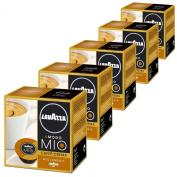 Lavazza A Modo Mio Caffè Crema Lungo Dolcemente, Pack of 5, 5 x 16 Capsules