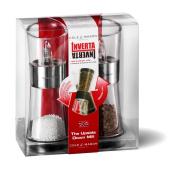 Cole & Mason Inverta Flip 154 mm Chrome Pepper and Salt Mill Gift Set