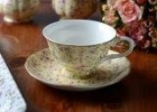 Katie Alice 'Ditsy Yellow Floral' Fine Bone China Cup & Saucer