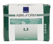 Abena Abri-Form Comfort Brief, Large, L3, 20 Count