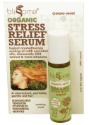 Blissoma Stress Relief Serum Roll on Organic and Natural Aromatherapy Oil for Migraines, Tension, Pain, .33 Oz, 10 Ml