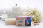 Likupfer Natural Handmade Goat Milk Soap With Dead Sea Minerals And Essential Oils - Patchouli Scent. 115 gr