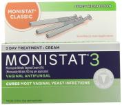 Monistat 3 Vaginal Antifungal Medication, 5ml, 3 Prefilled Applicators
