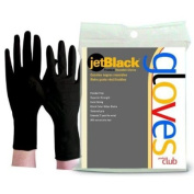 Product Club Reusable Black Latex Glove Large -