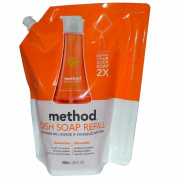 Dish Pump Refill, Clementine Scent, 36 oz Pouch