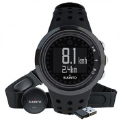 Suunto Men's M5 All Black Heart Rate Monitor - Ball Black