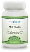 Milk Thistle Complex - 60 Capsules by Vitabase