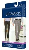 Sigvaris Select Comfort Knee High 20-30mmHg Unisex Open Toe, S1, Black