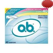 OB O.B. Tampon Multi-Pack 40