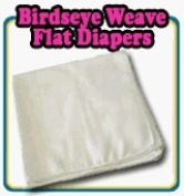 OsoCozy Birdseye Flat Cloth Nappies - 70cm x 70cm