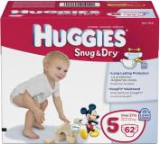 HUGGIES SNUG & DRY SURE FIT SZ 5