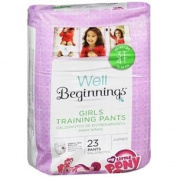 Walgreens Premium Training Pants Girl, 3T-4T, 23 ea
