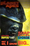 Soap-Filled Refillable Bath Sponge for Kids - Planet of the Apes