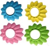 Leaf Style Safe Shower Hair Sunshade Shield Cap-- for Baby Kids Children Shampoo Visor