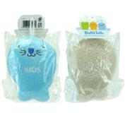 Kids Cotton Bath Sponge Seal