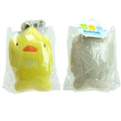 Kids Cotton Bath Sponge Ducky