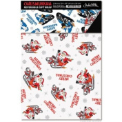 Accoutrements Chrismukkah Reversible Gift Wrap