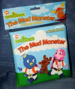 Nick Jr the Backyardigans the Mud Monster a Bath Book