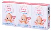 Kewpie Baby Cow Brand Soap 90g * 3