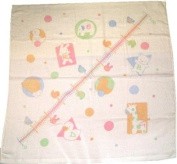 1p 90cm -- 90cm Height Metre Gauze Bath Towel Back