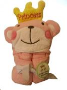 ~ PINK Princess Hooded Towel ~
