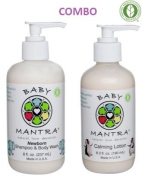 Baby Mantra Shampoo & Body Wash and Calming Lotion Combo