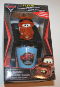 Cars 2 Team 95 Tow Mater Toothbrush Set, Toothbrush Holder, Toothbrush, Rinse Cup