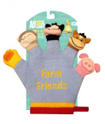 Animal Planet Finger Puppet Bath Glove