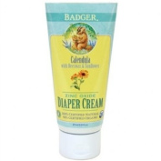 Badger Zinc Oxide Nappy Cream, Calendula