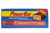 PowerBar Protein Plus Bars, Chocolate Peanut Butter, 20g Protein, 60ml Bars