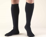 Truform 1943, Men's Dress Style Compression Socks, 15-20 mmHg, Knee High, Tan, Large