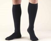 Truform 1943, Men's Dress Style Compression Socks, 15-20 mmHg, Knee High, Tan, Large