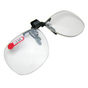 Daiso Japan Optical Clip-on Flip-up Magnifying Reading Glasses +3.50 Diopter