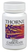 THORNE RESEARCH - Zinc Citrate (30mg) 60c [Health and Beauty]