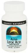 Source Naturals Alpha Lipoic Acid 300mg, 30 Tablets